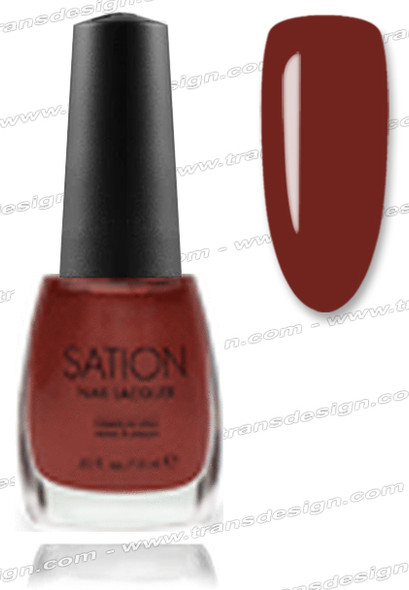 SATION Nail Lacquer - Golden Brown 0.5oz (S)