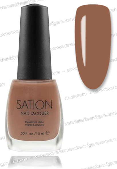 SATION Nail Lacquer - Cafe Con Leche 0.5oz (Sh)