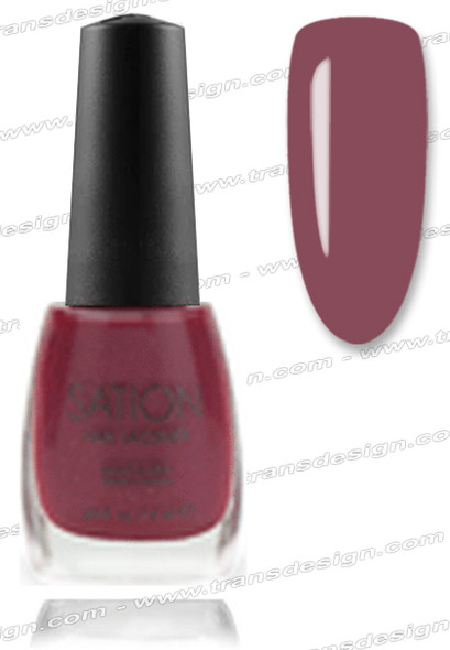 SATION Nail Lacquer - Burgundy Wine 0.5oz
