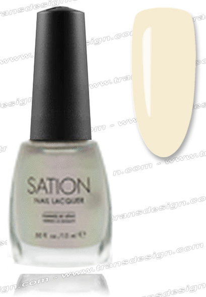 SATION Nail Lacquer - Angel White 0.5oz