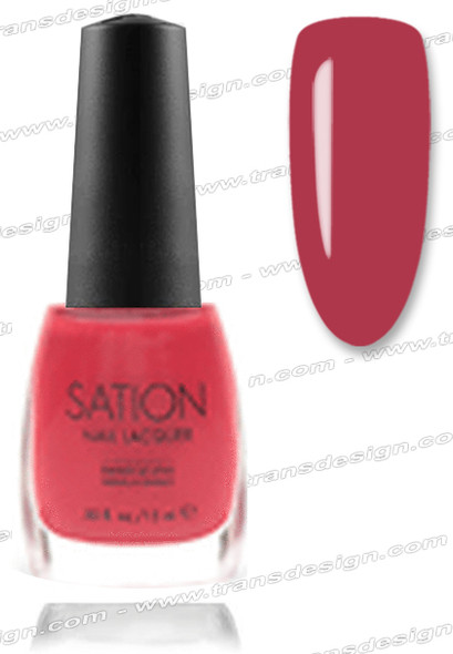 SATION Nail Lacquer - Holiday Pink 0.5oz