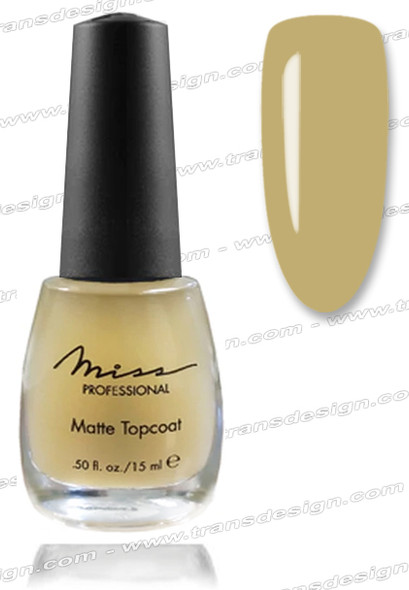 MISS PROFESSIONAL-Matte Topcoat 0.5oz