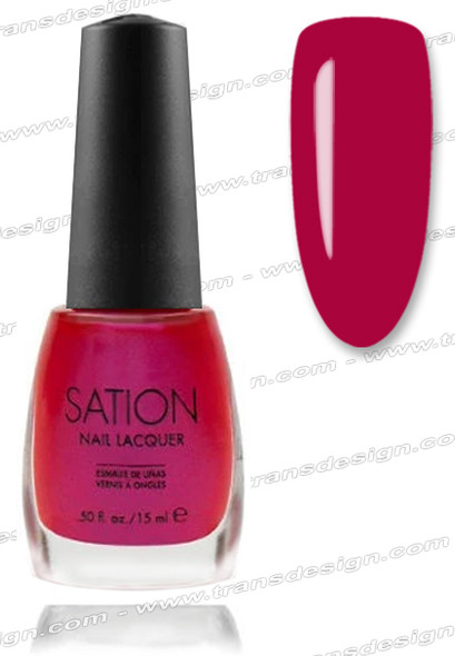 SATION Nail Lacquer - A Rose is A Rose Is A Rose 0.5oz (F)