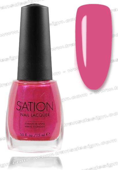SATION Nail Lacquer - Lilac Fiesta  0.5oz (S)