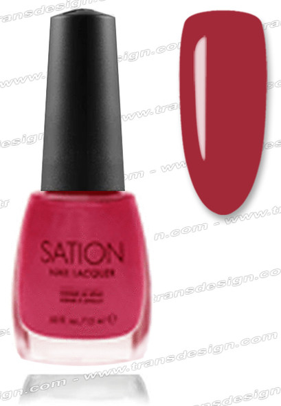 SATION Nail Lacquer - Glowing Garnet  0.5oz (F)