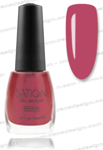 SATION Nail Lacquer - Blackberry Shine 0.5oz (S)