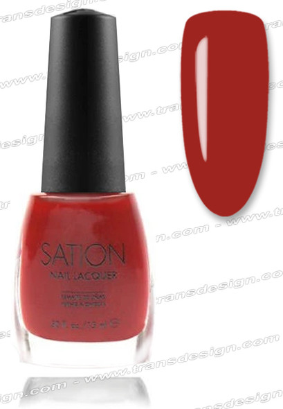 SATION Nail Lacquer - Billion Dollar Red  0.5oz