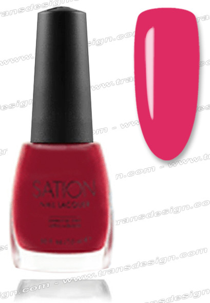 SATION Nail Lacquer - Strawberries 0.5oz