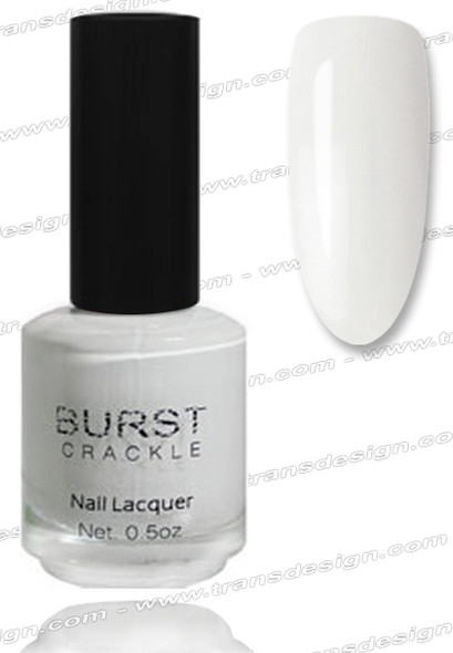 BURST CRACKLE Nail Lacquer - Blizzard #8