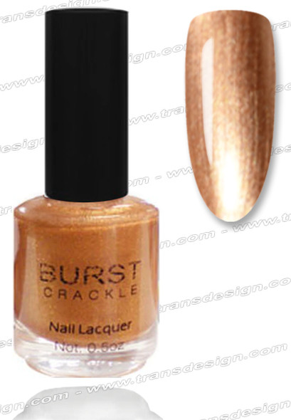 BURST CRACKLE Nail Lacquer - Bronze Medal  #15