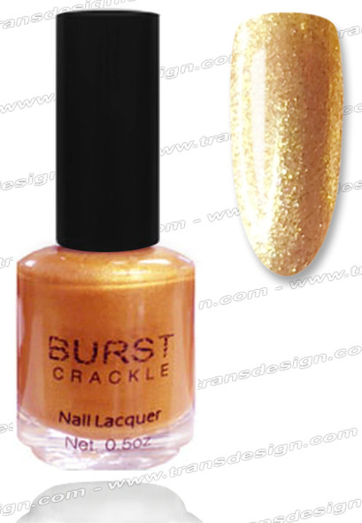 BURST CRACKLE Nail Lacquer - Buckingham Gold  #18