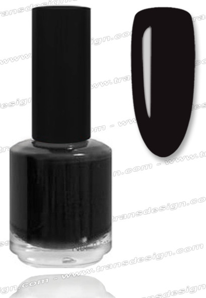 BURST CRACKLE Nail Lacquer - Midnight Black #11