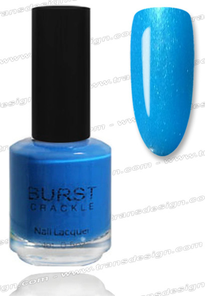 BURST CRACKLE Nail Lacquer - Ocean Breeze #10