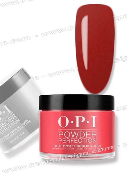 OPI Dip Powder -  DPA70 Red Hot Rio