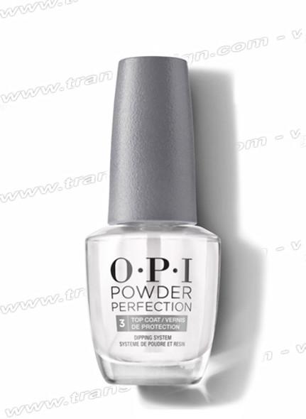 OPI POWDER PERFECTION Top Coat #3 0.5oz - 934621