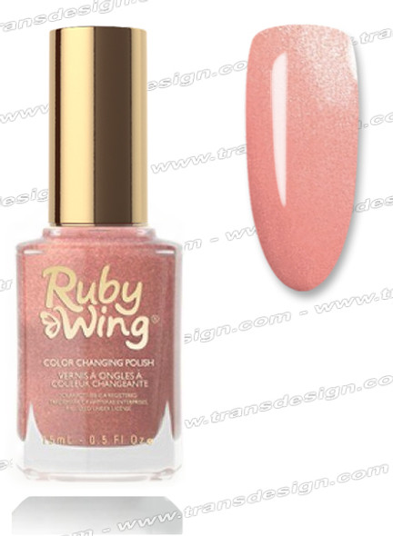 RUBY WING Nail Lacquer - Bonfire 0.5oz *