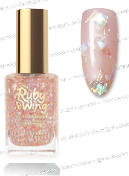 RUBY WING Nail Lacquer - Chocolate Mousse 0.5oz  *