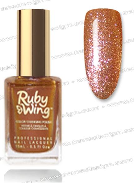 RUBY WING Nail Lacquer - Cinnamon Bun 0.5oz *