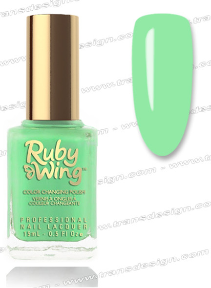 RUBY WING Nail Lacquer - Cut Grass 0.5oz *