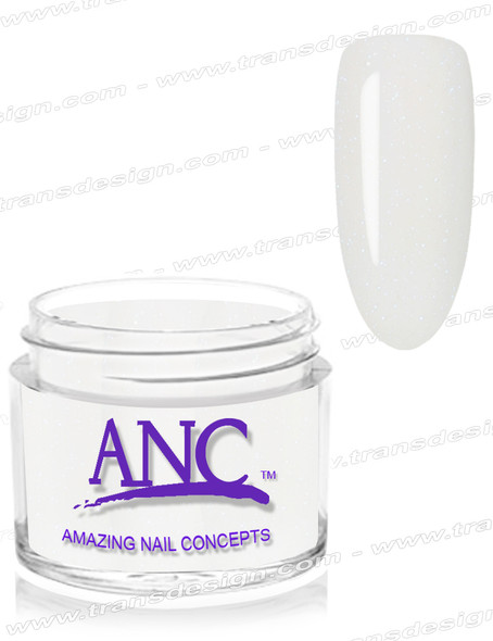 ANC Dip Powder - #123 Sparkling White 1oz.