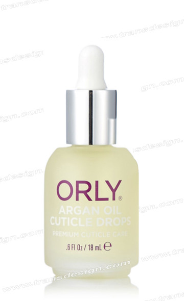 ORLY Nail Treatment  Argan Oil Cuticle Drops 0.6 Fl. Oz. / 18 ml
