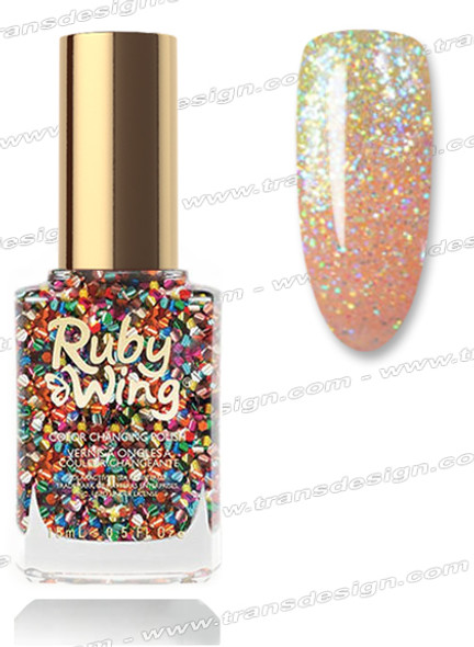 RUBY WING Nail Lacquer - Sparkle & Shine 0.5oz *