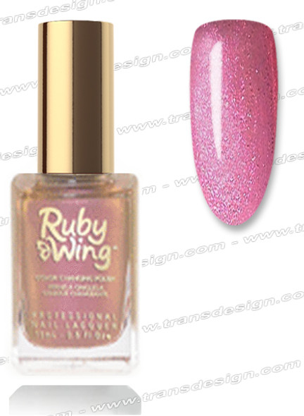 RUBY WING Nail Lacquer - Sweet Cream 0.5oz *