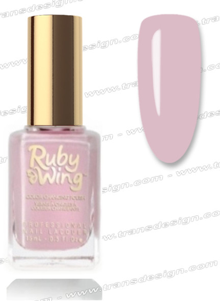 RUBY WING Nail Lacquer - Sweet Rose 0.5oz