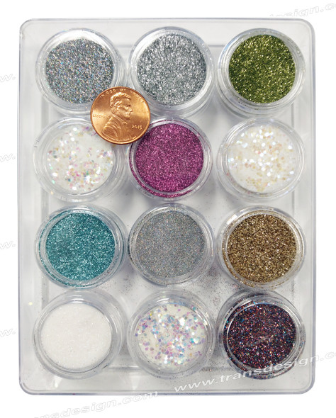 NAIL ART Glitter 12 Color/Pack #2