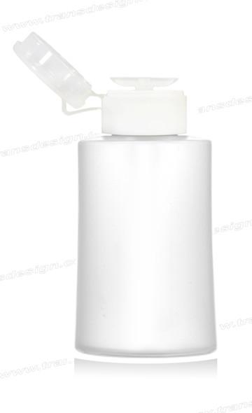 BOTTLE - Plastic Liquid Pump Dispenser 6oz.