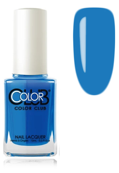 COLOR CLUB NAIL LACQUER - Blue Lagoon
