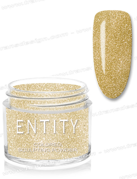 ENTITY Colored Acrylic Powder - Gold For Baroque Powder 1.75oz