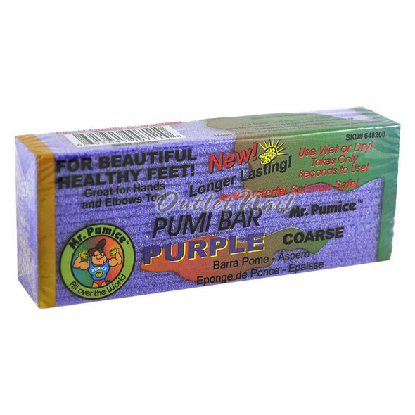 Mr. Pumice - Purple Pumi Bar Coarse