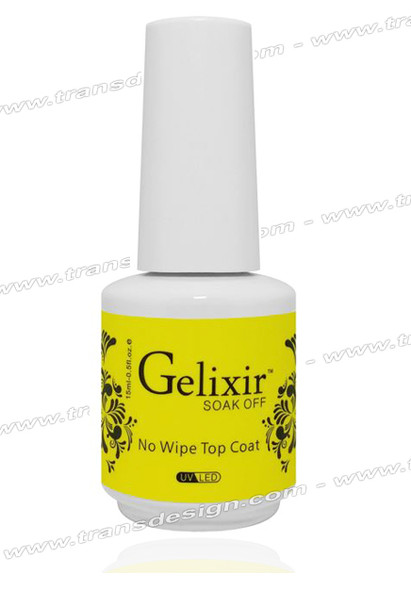GELIXIR Gel Top Coat No Wipe 0.5oz