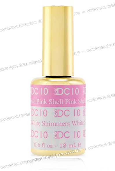 DND DC Mood Change - Shell Pink White Shimmers 0.6oz