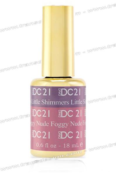 DND DC Mood Change - Litte Shimmers Foggy Nude 0.6oz