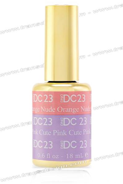 DND DC Mood Change - Orange Nude Cute Pink 0.6oz