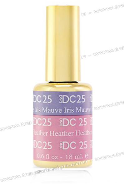 DND DC Mood Change - Mauve Iris Heather Heather 0.6oz