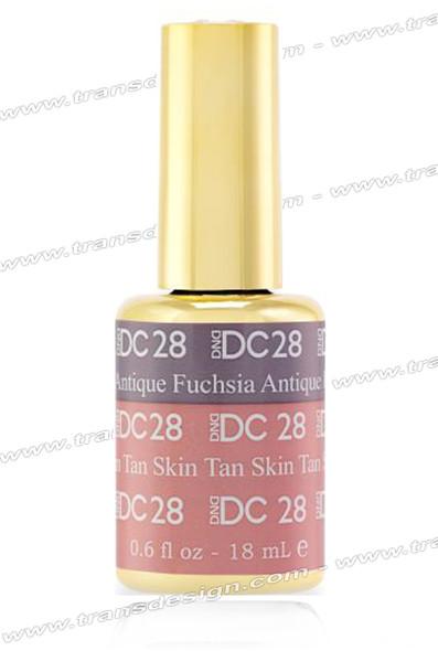 DND DC Mood Change  Antique Fuchsia Tan Skin  0.6oz