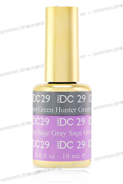 DND DC Mood Change - Hunter Green Sage Gray 0.6oz