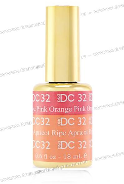 DND DC Mood Change - Orange Pink Ripe Apricot 0.6oz