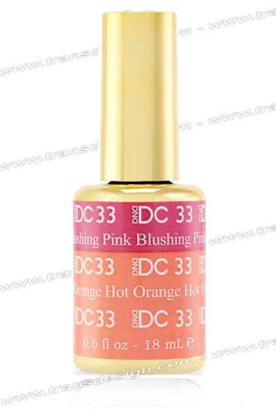 DND DC Mood Change - Blushing Pink Hot Orange 0.6oz