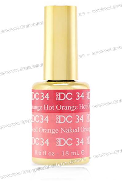 DND DC Mood Change - Hot Orange Naked Orange 0.6oz