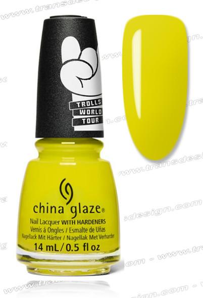 CHINA GLAZE POLISH  -  It's All Techno 0.5oz.