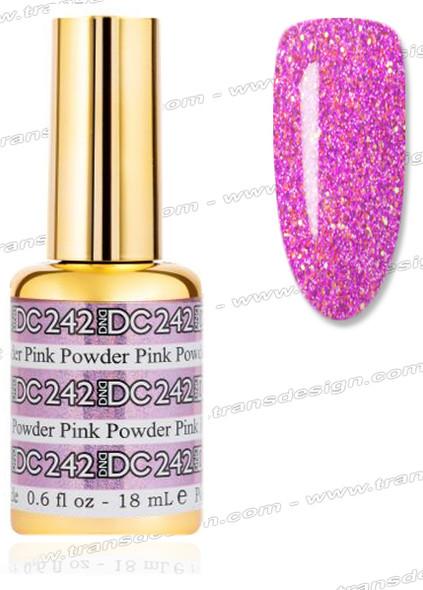 DND DC Mermaid Gel # 242 Powder Pink 0.6oz