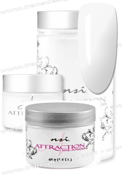 NSI Attraction Acrylic Powder Natural 1.4oz. | 40g.