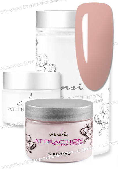 NSI Attraction Acrylic Powder Rose Blush