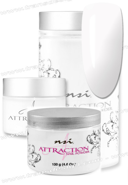 NSI Attraction Acrylic Powder Soft White