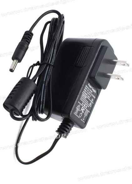 POWER ADAPTER 100-240VAC to 12VDC. 1A.
