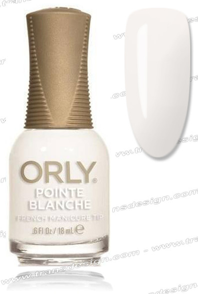 ORLY Nail Lacquer - Pointe Blanche